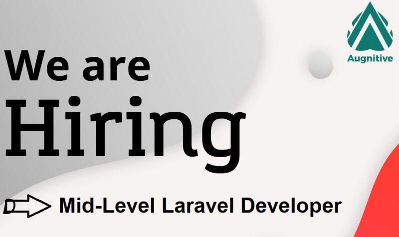 Hiring Mid-Level Laravel Developer